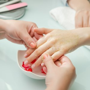 luxy manicure during cancer treatment