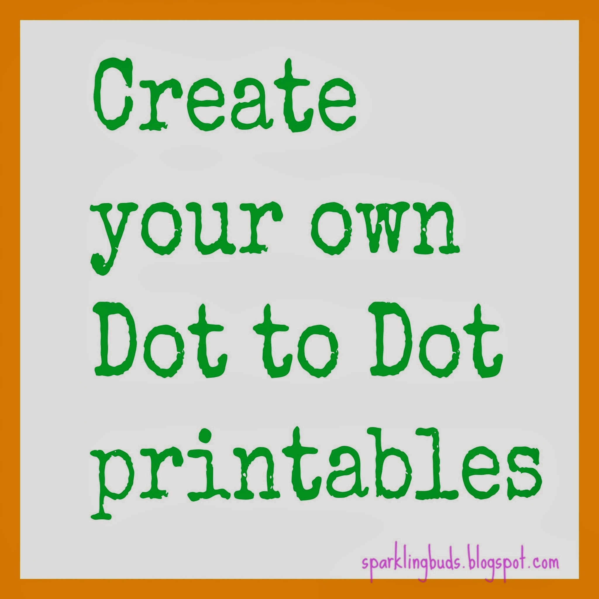 Make Your Own Dot To Dot Printable Using Gimp