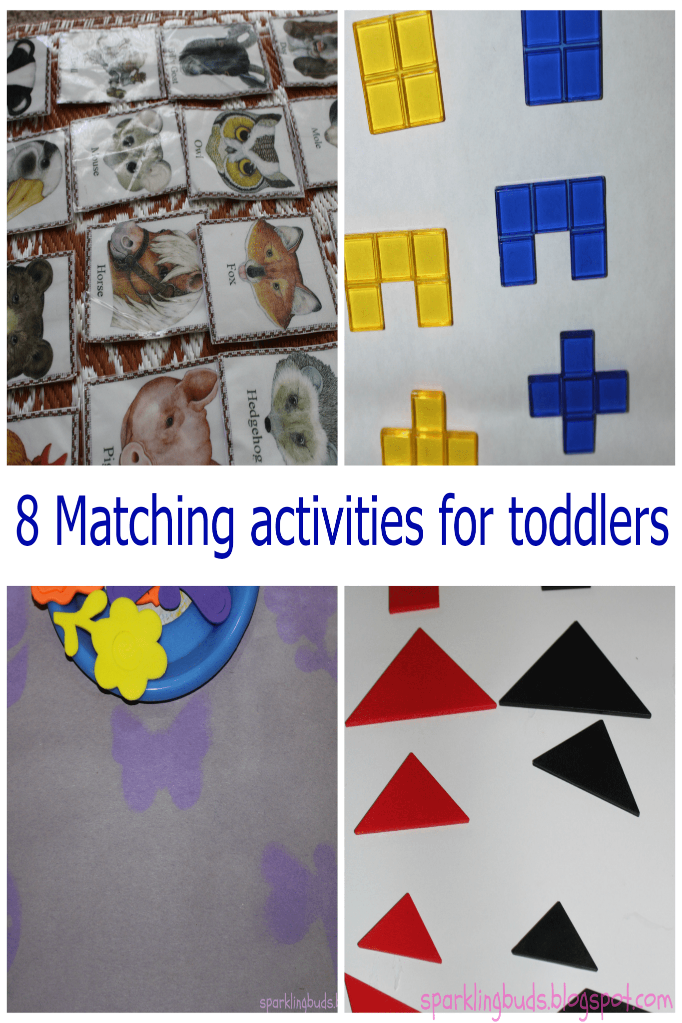 Eight Matching Activities For Toddlers Sparklingbuds