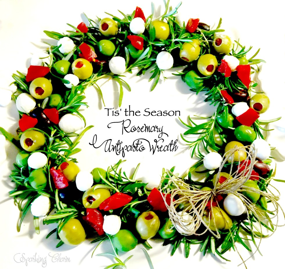 Rosemary Antipasto Wreath