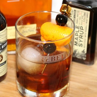 Smoked Maple Orange Old Fashioned