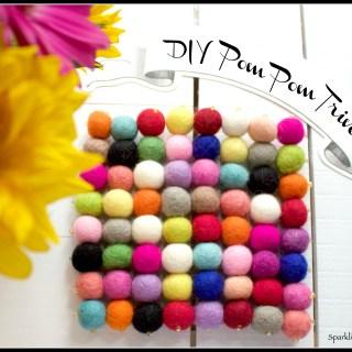 DIY Pom Pom Trivet