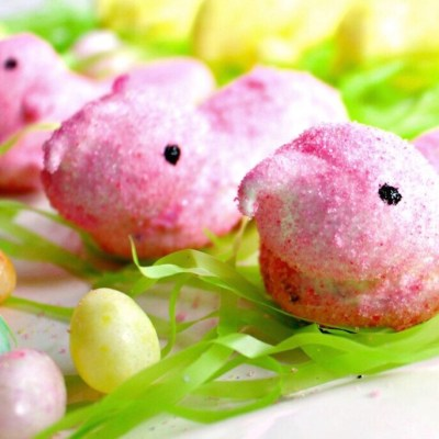 Chillin' with my Peeps – Homemade Marshmallow Peeps