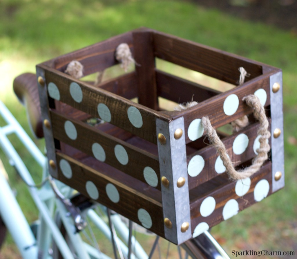 DIY Darling Dots Bike Box