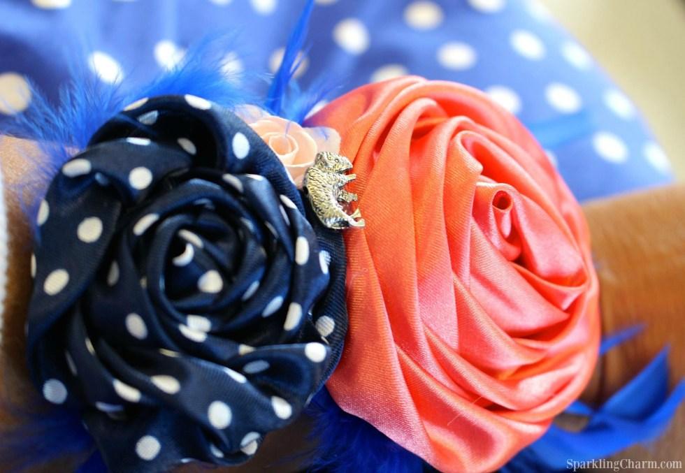 DIY Fabric Wrist Corsage