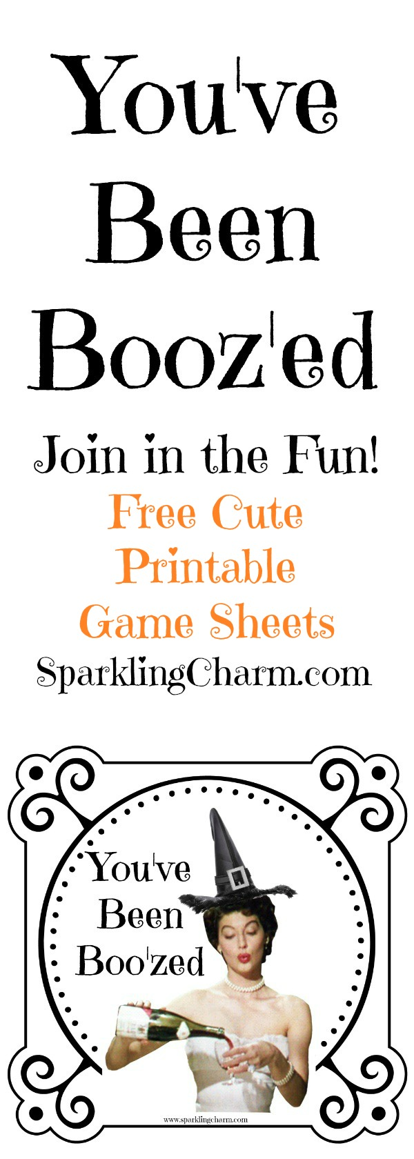photograph about You've Been Boozed Printable identify Youve Been Booz-ed (No cost Printable Video game Sheets) - Glowing