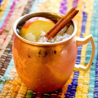 Caramel Apple Cider Moscow Mule
