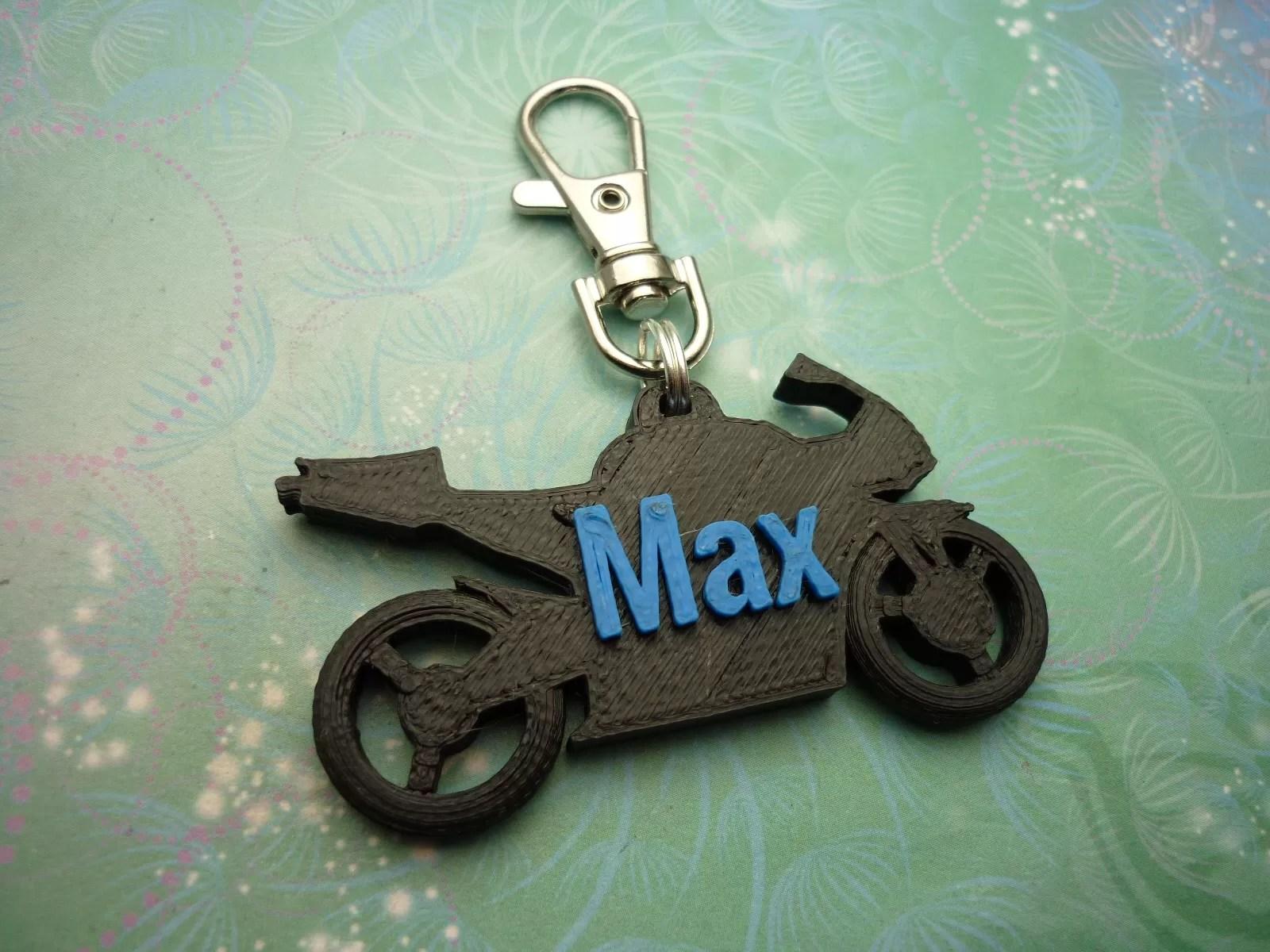 3d printed motorbike key