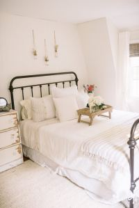 Farmhouse Guest Bedroom Makeover - Lynzy & Co.
