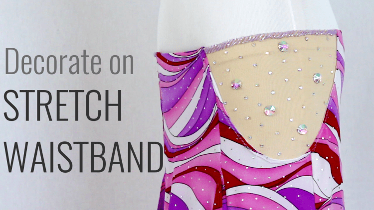 Decorate on Stretch Waistband