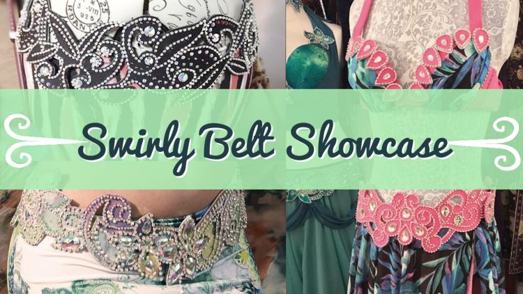 Swirly Belt Showcase - sparkly belly