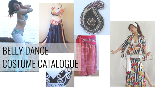 Sparkly Belly Belly Dance Costume Catalogue