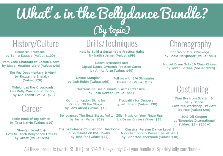 The Bellydance Bundle by topic