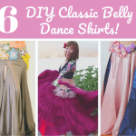 6 DIY Classic Belly Dance Skirts!