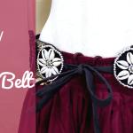 DIY ATS tribal belt shell coin kuchi belt