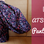 DIY Pantaloons for ATS tribal fusion belly dance harem pants