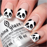 10 Incredible Black and White Nail Designs - Sparkly ...