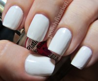 10 Fabulous Ideas for White Nail Polish - Sparkly Polish Nails