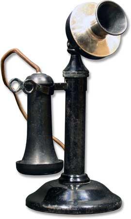 Non-dial Candlestick Stromberg Carlson 1908