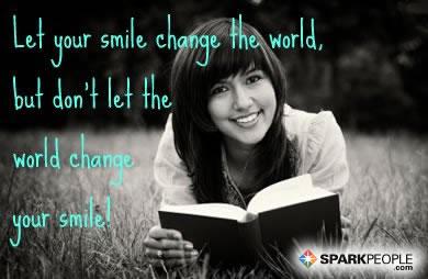 Kết quả hình ảnh cho Let your smile change the world