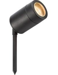 BK4SP - IP65 Garden Spike Light in Black 90deg Tilt Angle ...