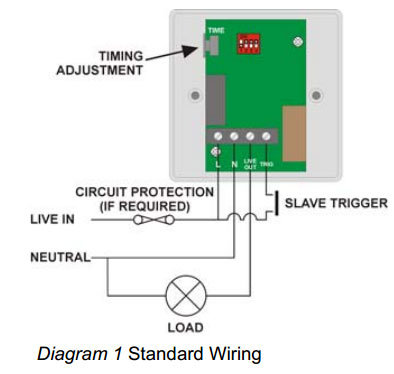photocell lighting control wiring diagram 2009 pontiac g6 stereo push button time delay switch for light, heat and ventilation cp electronics mrt16-pb | mrt16pb ...