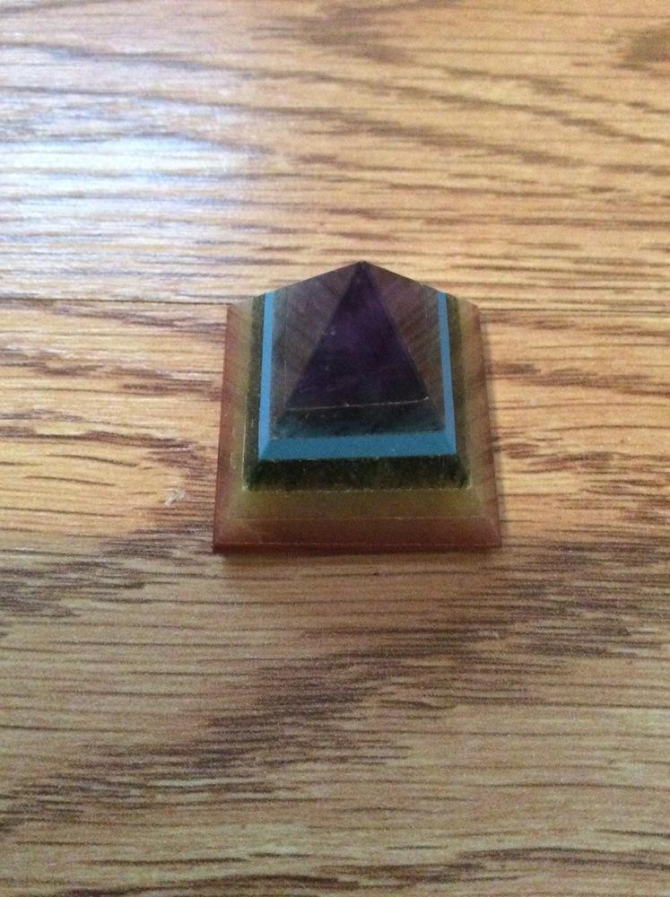 Chakra Balancing Healing Infused Pyramid