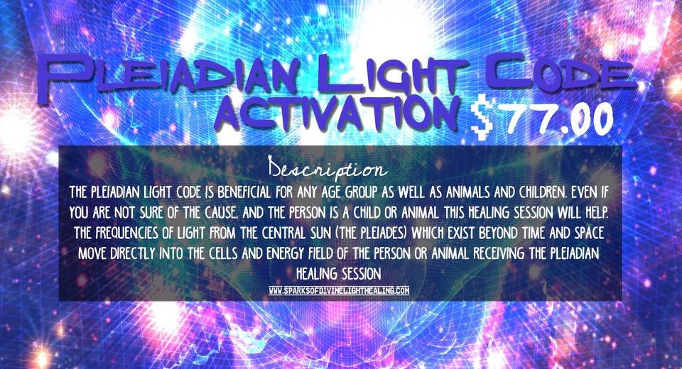 Pleiadian Light Code Activation