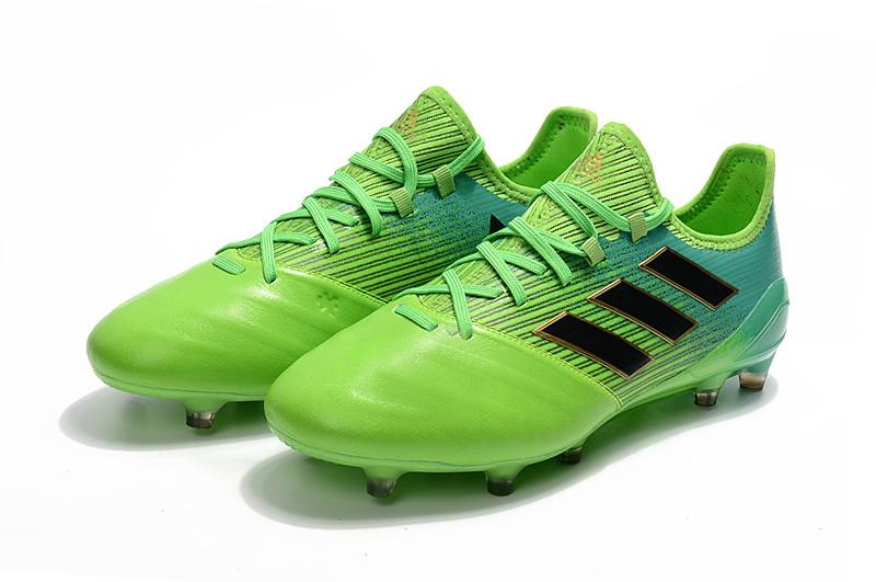 best cheap 1d99e 1e586 best inicio tacos adidas adidas ace 17.1 cuero verde 98219 94e31