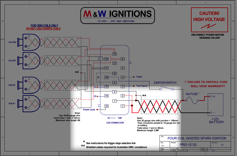 Box Wiring Diagram For Installation On Evo Oem Wiring Harness Diagram
