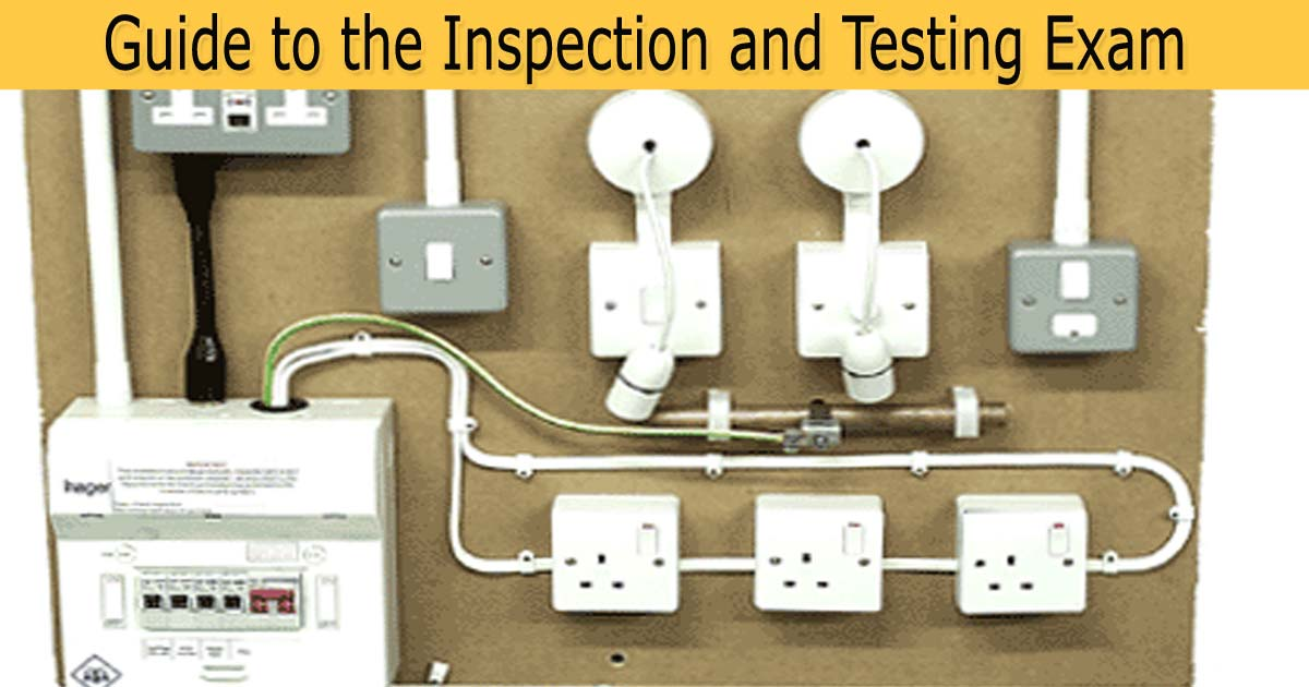 3 Phase Lighting Wiring Diagram C Amp G 2391 Mock Exam Paper One With Answers Sparkyfacts