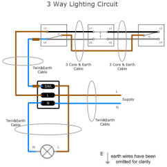 Intermediate Switch Wiring Diagram Uk 2003 Toyota Sequoia Parts Three Way Lighting Circuit Sparkyfacts Co Modern