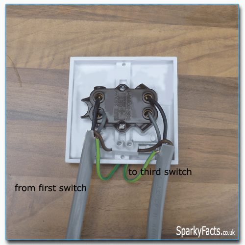 intermediate switch wiring diagram uk 2008 ford escape trailer two way and lighting circuit am2 exam step 3