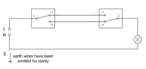 Wiring Diagram For Two Switches To One Light