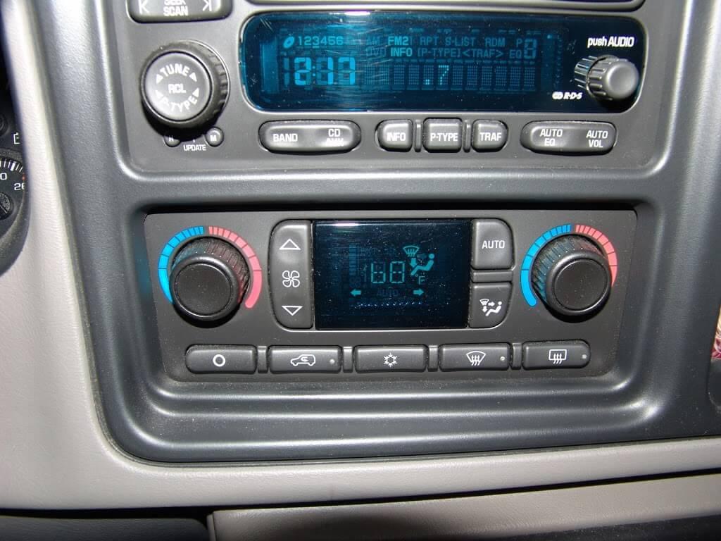 2003 Chevy Silverado Blend Door Actuator