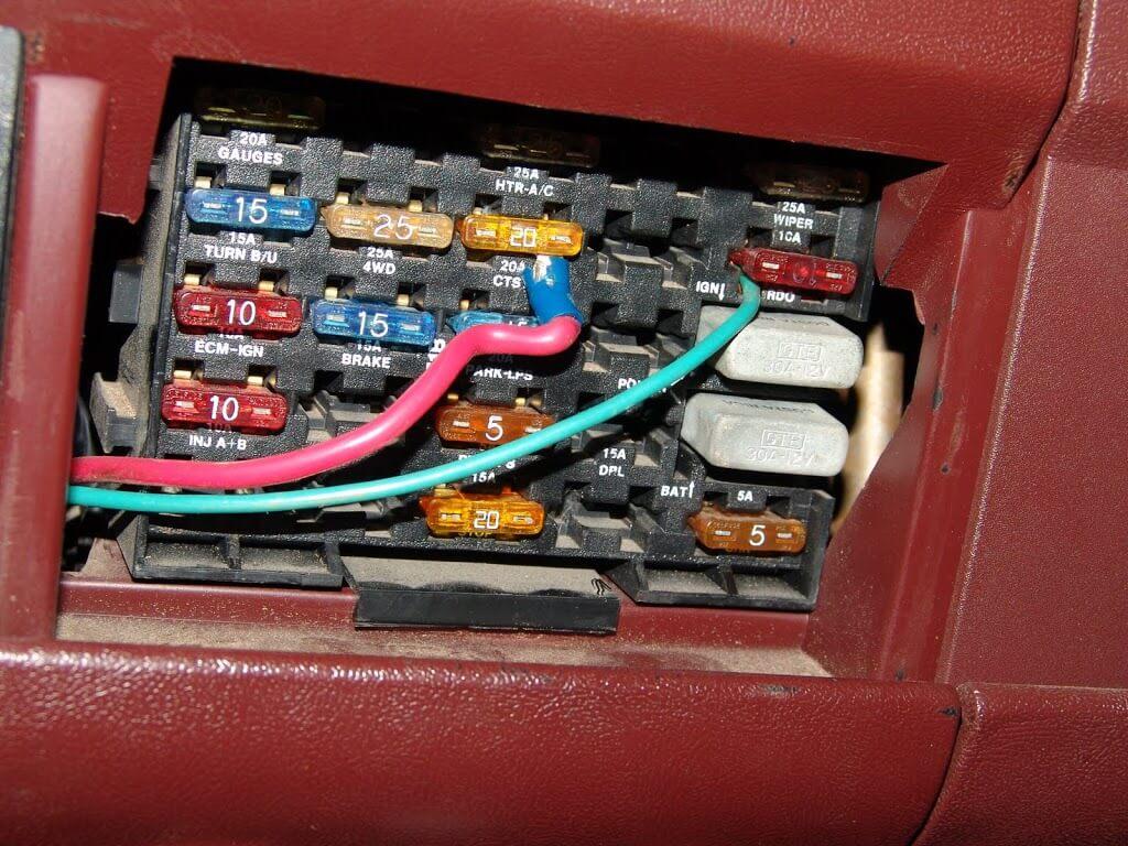 Impala Radio Wiring Diagram 1990 Chevrolet K1500 Pickup Multiple Electrical Problems