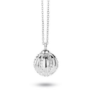 Collier Opium zilver