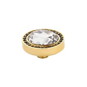 Meddy VI Facet Meddy Gold Black-Crystal