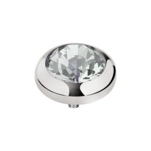vivid cz 5mm zilver