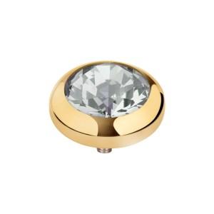 vivid cz 5mm goud