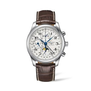 Heren horloge Longines - model Master collection - De Longines collectie is verkijgbaar bij Sparnaaij Juweliers in Aalsmeer