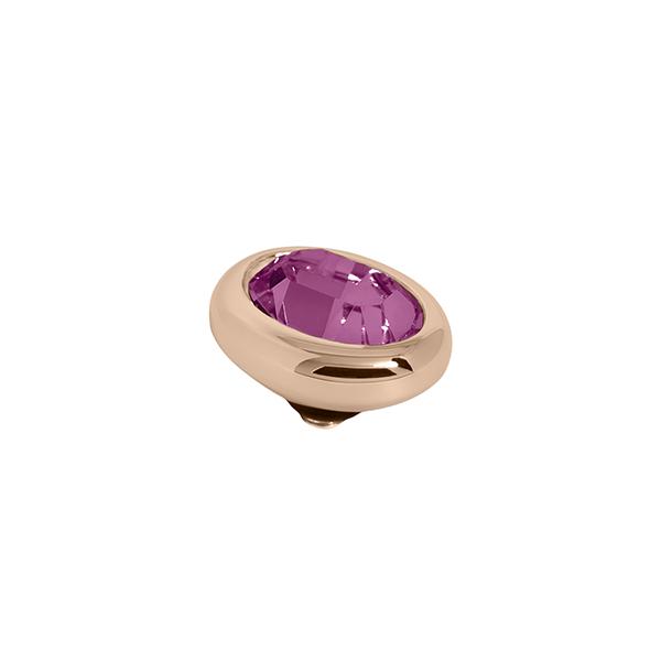 Melano Twisted oval swarovski amethyst 10mm - Te koop bij Sparnaaij Juweliers in Aalsmeer en Hoofddorp