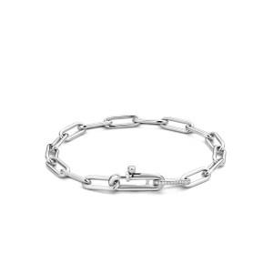 Zilveren closed forever armband van Ti Sento - Te koop bij Sparnaaij Juweliers in Aalsmeer en Hoofddorp