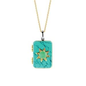Sparnaaij Juweliers - Ti Sento x Danie Bles - collier turqoise