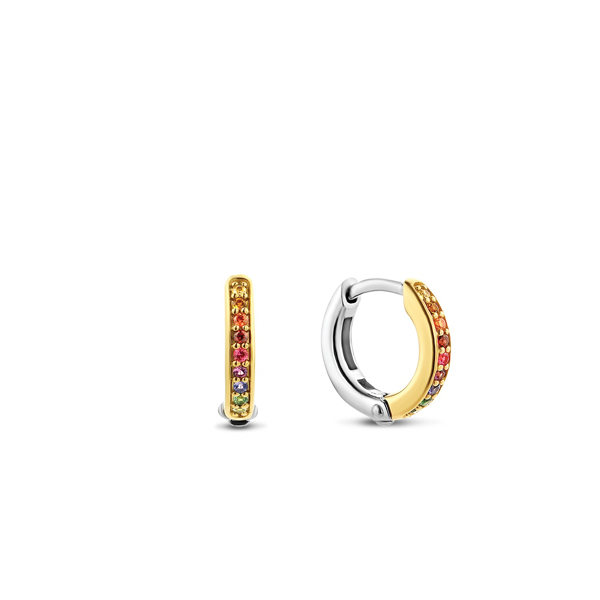 Sparnaaij Juweliers - Ti ento x Danie Bles - creolen multicolor