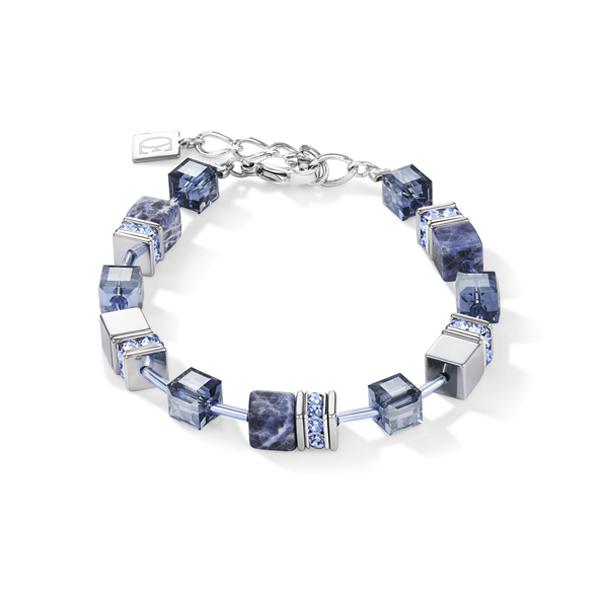 Coeur de Lion armband - sodaliet blauw grijs - Te koop bij Sparnaaij Juweliers in Hoofddorp