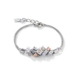 Coeur de Lion - armband staal met hematiet - Te koop bij Sparnaaij Juweliers in Hoofddorp
