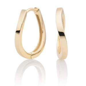 Sparkling Jewels - Creolen goudkleurig - Te koop bij Sparnaaij Juweliers in Aalsmeer en Hoofddorp