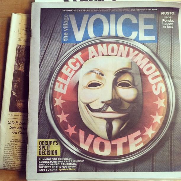 village voice cover