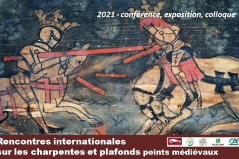 NOUVEAU : AIGUEPERSE intègre l'exposition itinérante sur les plafonds peints médiévaux